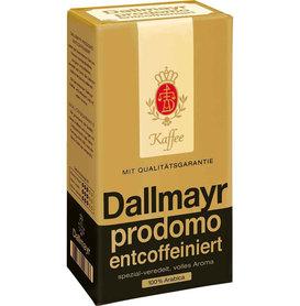 12* Dallmayr PRODOMO Bezkofeinowa kawa mielona 500g