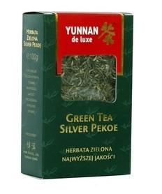 Herbata Zielona Yunnan de luxe Silver Pekoe 100g liść