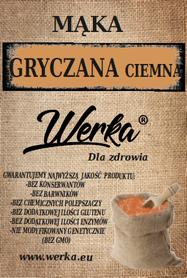 Mąka gryczana ciemna 5kg