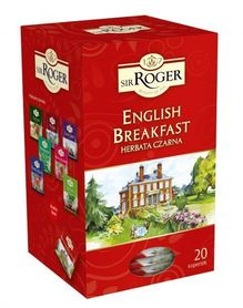 Sir Roger Herbata czarna English Breakfast 20 kopert