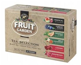 Herbata FRUIT GARDEN ekspresowa kompozycja 6 smaków