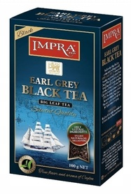 Herbata czarna liściasta Impra Earl Grey 100g liść