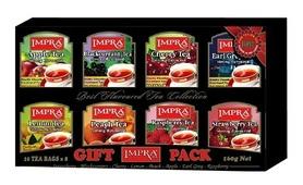 Herbata czarna owocowa IMPRA GIFT PACK zestaw 80 sztuk