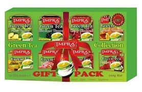 Herbata zielona owocowa IMPRA GIFT PACK zestaw 80 sztuk