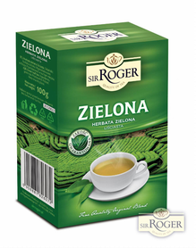 Sir Roger herbata liściasta 100g ZIELONA