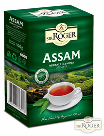 Sir Roger herbata liściasta 100g ASSAM