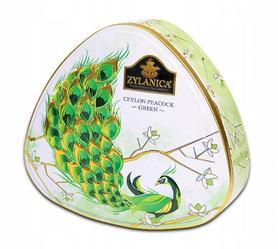 Herbata Zielona Zylanica Peacook Collection Green