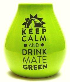 LUKA GREEN 350 ml z z logo MATE GREEN