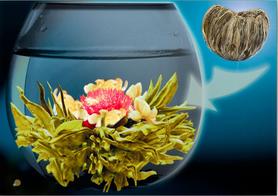 Herbata kwitnąca Gold Ingot - Jaśminowe SERCE