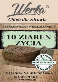 Mieszanka chlebowa bezpszeniczna 10 ziaren życia 1kg
