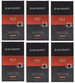 DAVIDOFF 6x250G RICH AROMA kawa mielona
