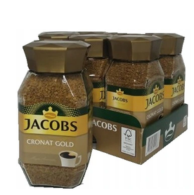 Zgrzewka JACOBS CRONAT GOLD 6x 200G rozpuszczalna