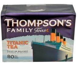 Thompson's Titanic Tea, prawdziwie luksusowa mieszanka.