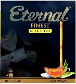 Herbata cejlońska (z niewielką domieszką herbaty indyjskiej), czarna, ekspresowa.