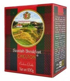 Chelton Scottish Breakfast to czarna herbata wielkolistna (OPA) uprawiana na plantacjach prowincji Ruhuna, znajdujących się na południu wyspy Cejlon.