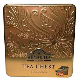Herbaciany kwartet Tea Chest Four tworzony jest przez najlepsze mieszanki takie jak: English Breakfast, Earl Grey, English Tea No. 1 oraz Green Tea Pure.